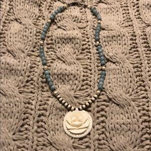 Jewelry - Rose boho necklace